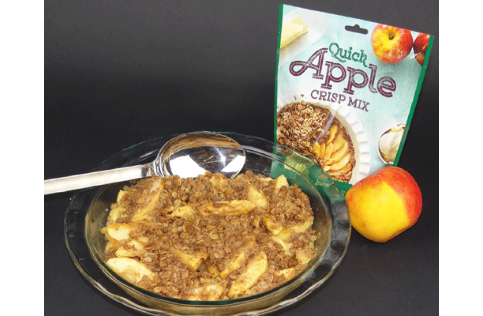 Apple Crisp - Not As Difficult As It Sounds!
