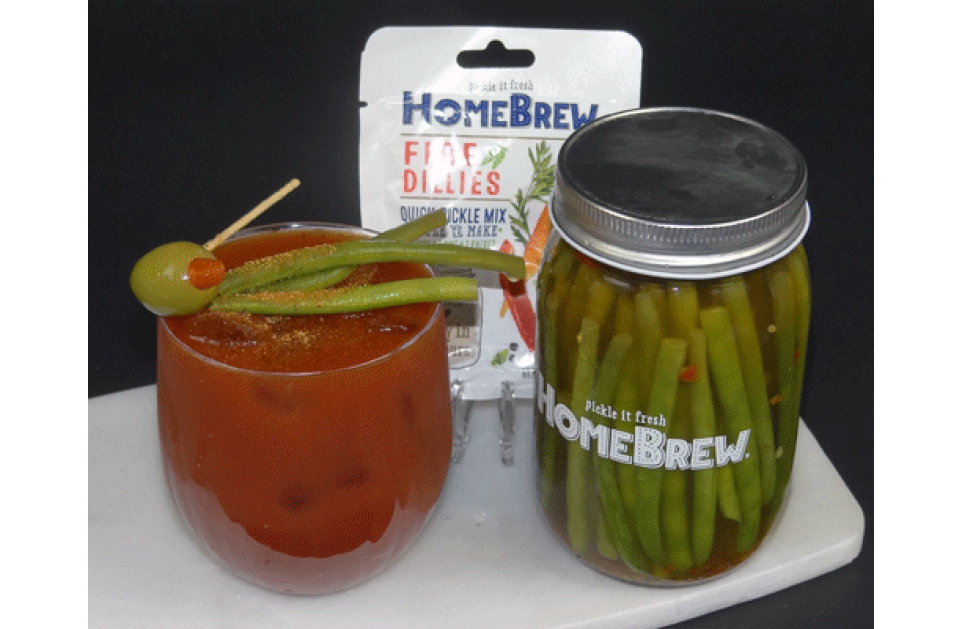 Fire Dillies Spicy Bloody Mary