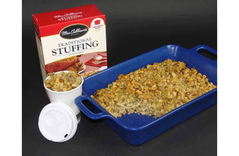 Lunchtime Leftover Stuffing Idea